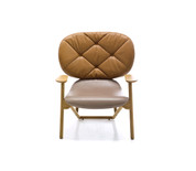 Moroso Klara Button Tufted Armchair