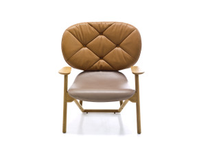 View Moroso Klara Button Tufted Armchair