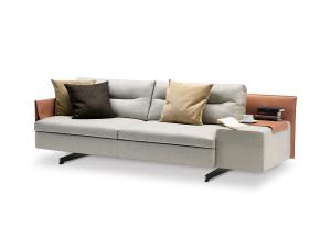 View Poltrona Frau GranTorino Two Seater Sofa - Asymmetric