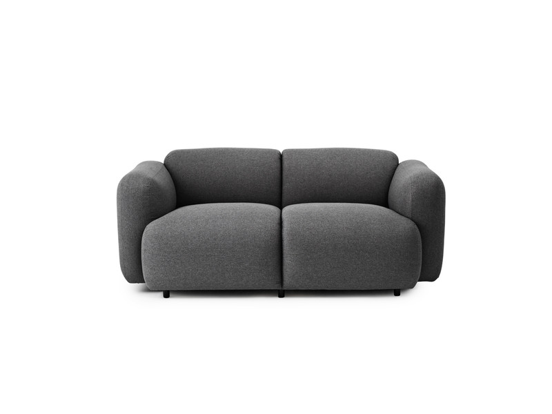 Buy the Normann Copenhagen Swell Two Seater Sofa at Nest.co.uk