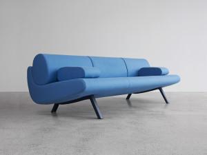 View Erik Jorgensen EJ 180-3 In Duplo Low Three Seater Sofa