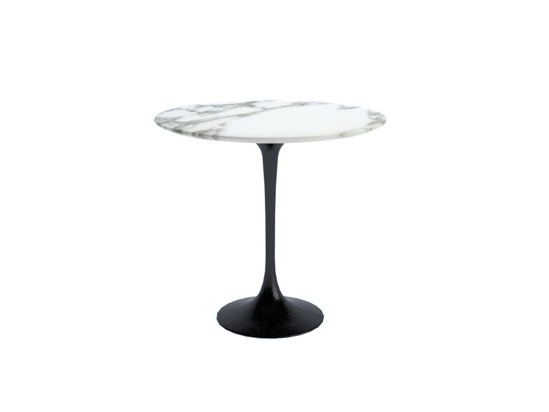 buy the knoll studio knoll saarinen tulip side table oval at. Black Bedroom Furniture Sets. Home Design Ideas