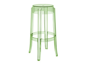 View Kartell Charles Ghost Bar Stool Green
