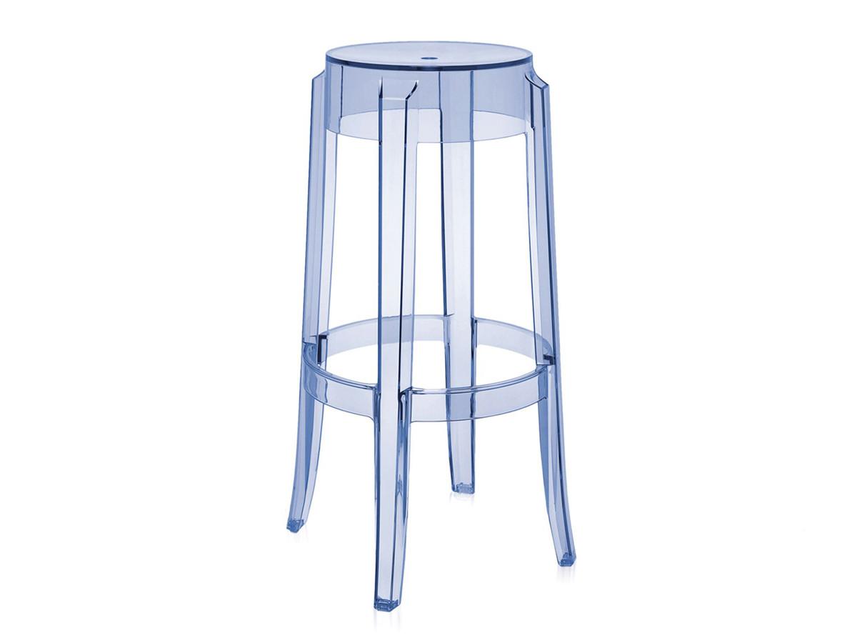 buy the kartell charles ghost bar stool light blue at nestcouk - kartell charles ghost bar stool light blue