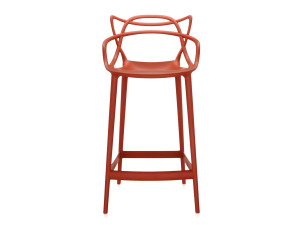 View Kartell Masters Bar Stool Rusty Orange