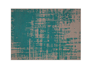 View GAN Canevas Abstract Rug Green
