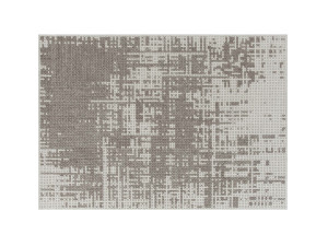 GAN Canevas Abstract Rug Silver