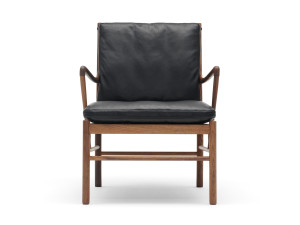 View Carl Hansen OW149 Colonial Chair Lacquered Walnut