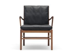 Carl Hansen OW149 Colonial Chair Lacquered Walnut