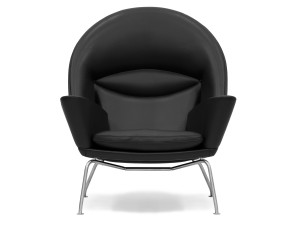 View Carl Hansen CH468 Oculus Chair Leather