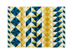 View GAN Hand Tufted Mosaïek Rug Yellow