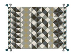 View GAN Kilim Mosaiek Rug Grey