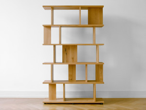 View E15 SH05 Arie Shelving System Oak