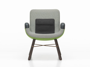 View Vitra East River Chair Green