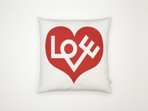 View Vitra Graphic Print Pillows - Love