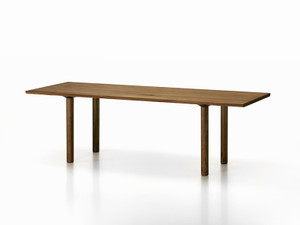 View Vitra Wood Table Smoked Oak