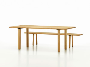 View Vitra Wood Table Natural Oak