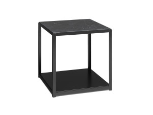 View E15 FK12 Fortyforty Side Table Black Marble