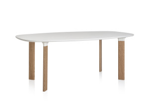Fritz Hansen Analog Table White Laminate
