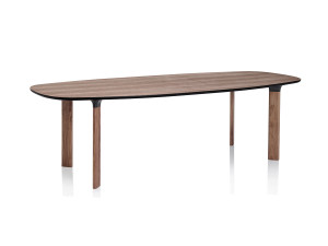 Fritz Hansen Analog Table Walnut