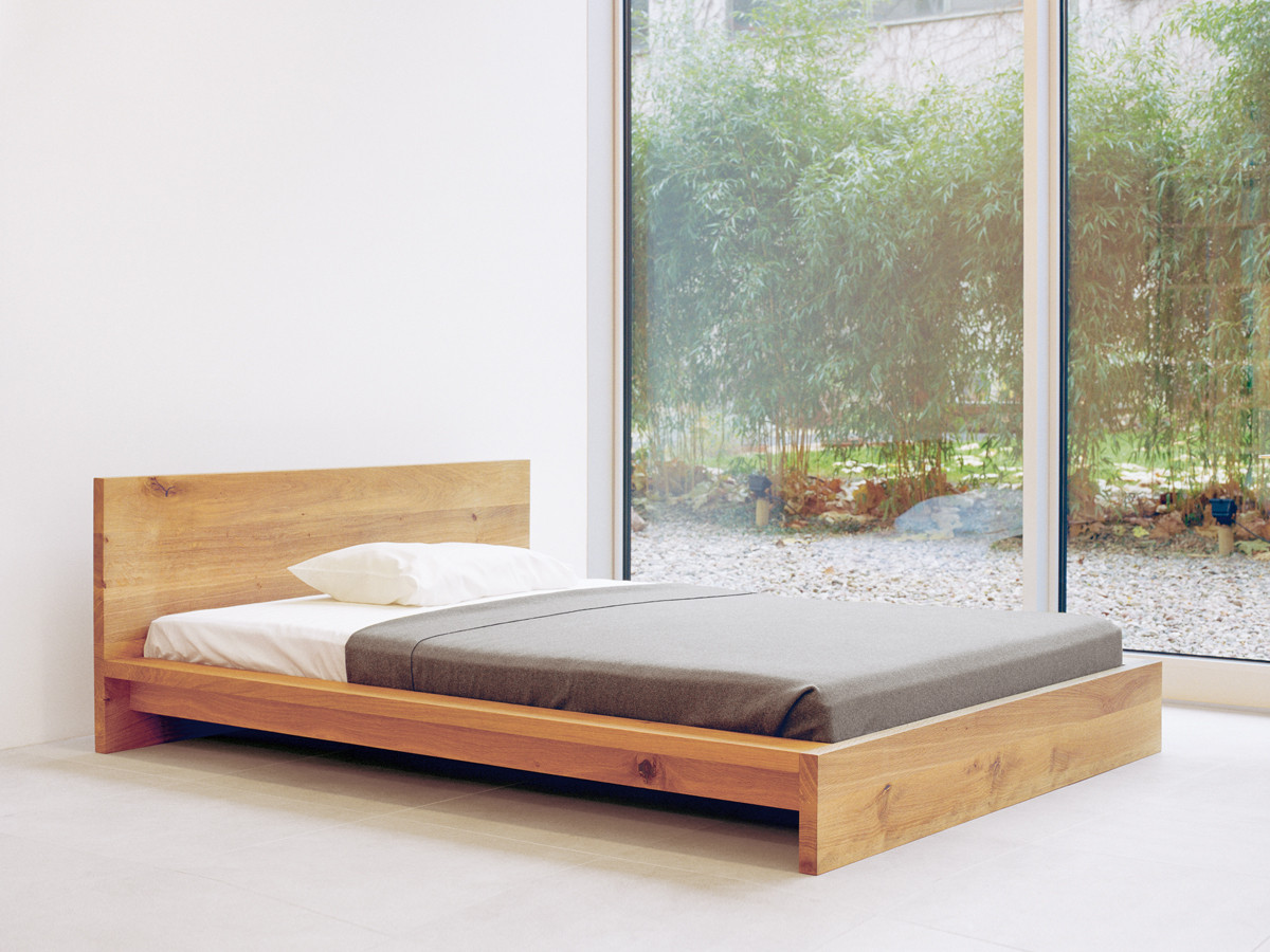 buy the e15 sl02 mo bed oak at nest