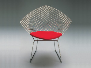 View Knoll Diamond Armchair in Tonus Fabric