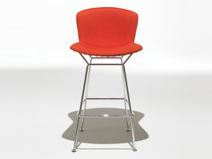 View Knoll Bertoia Bar Stool Fully Upholstered
