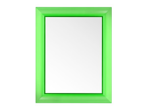 View Kartell Francois Ghost Mirror Green