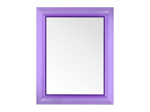 View Kartell Francois Ghost Mirror Purple