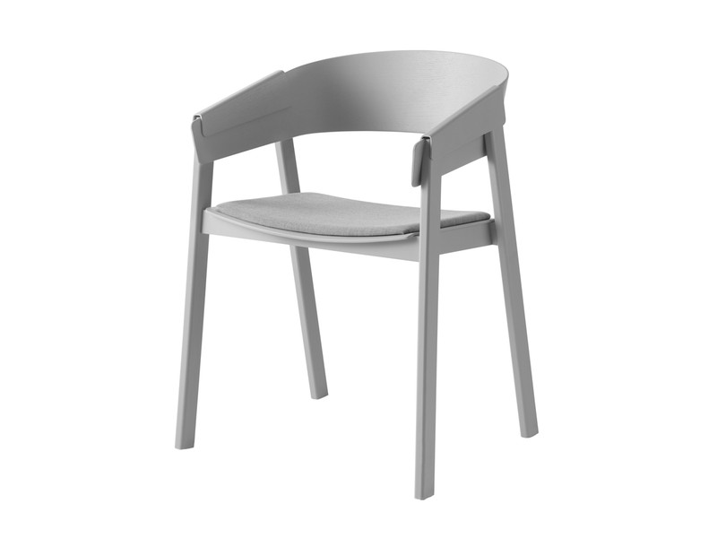Buy the Muuto Cover Chair with Fabric Seat at Nest.co.uk