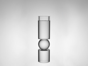 Lee Broom Fulcrum Candlestick Small