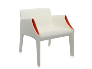 View Kartell Magic Hole Armchair White