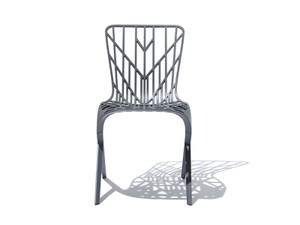 View Knoll Washington Skeleton Chair Grey