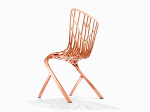 View Knoll Washington Skeleton Chair Copper Plated