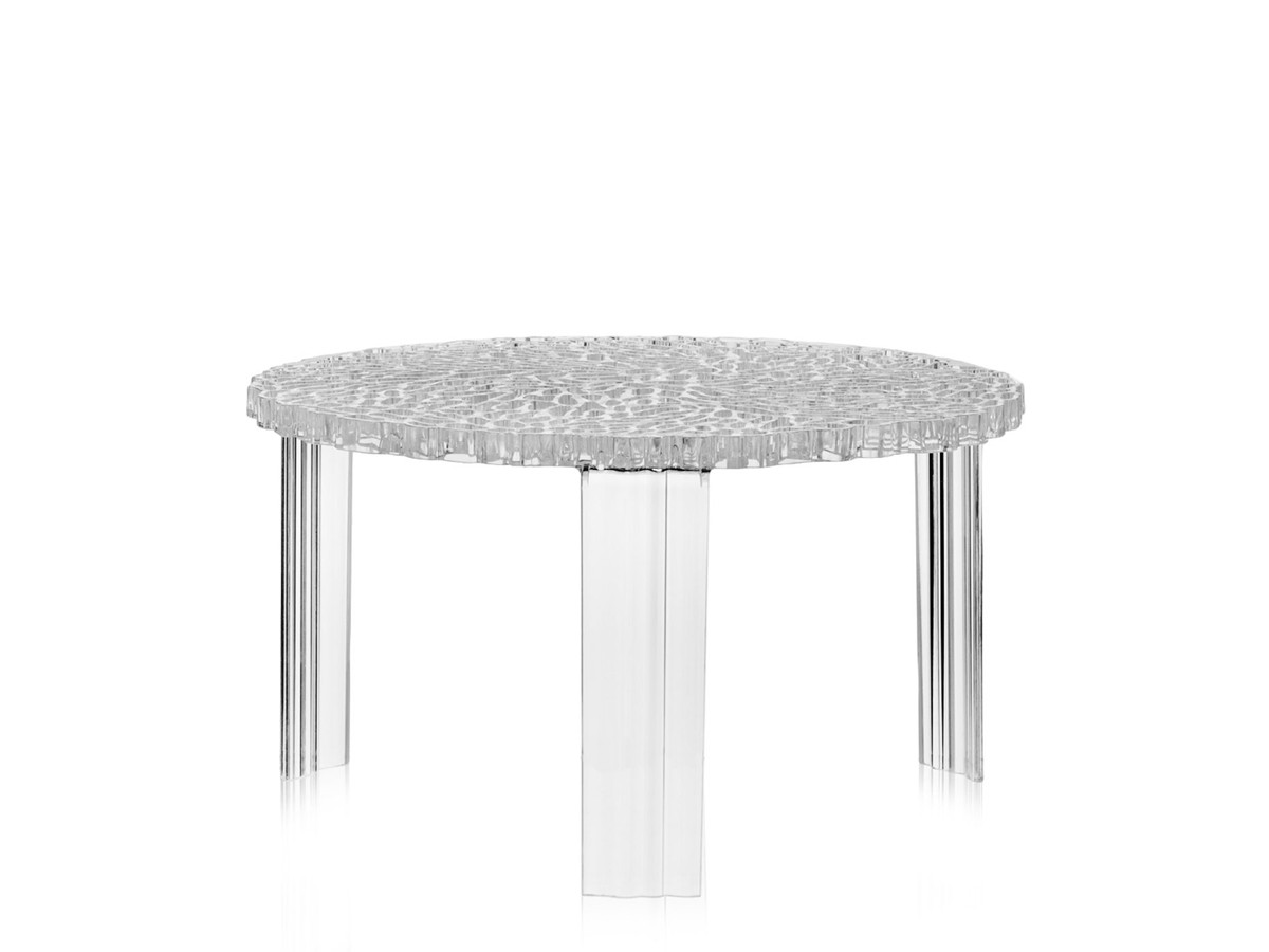 buy the kartell t table crystal at ForTable Kartell