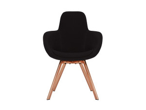 View Tom Dixon Scoop High Copper Chair