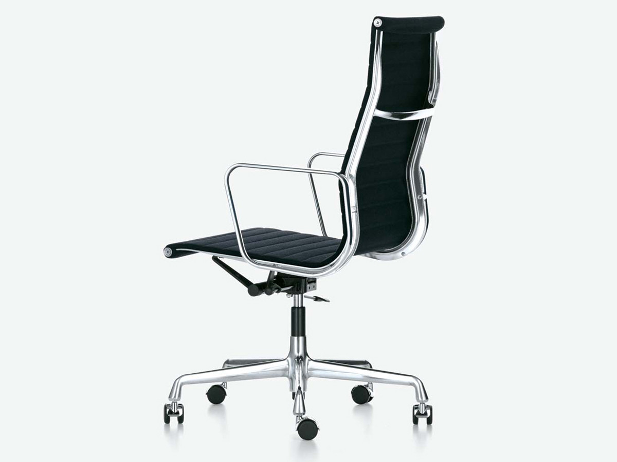 Buy the vitra eames ea 119 aluminium chair at for Eames alu chair nachbau