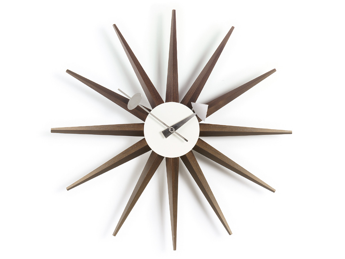 Buy The Vitra Sunburst Wall Clock At Nest Co Uk