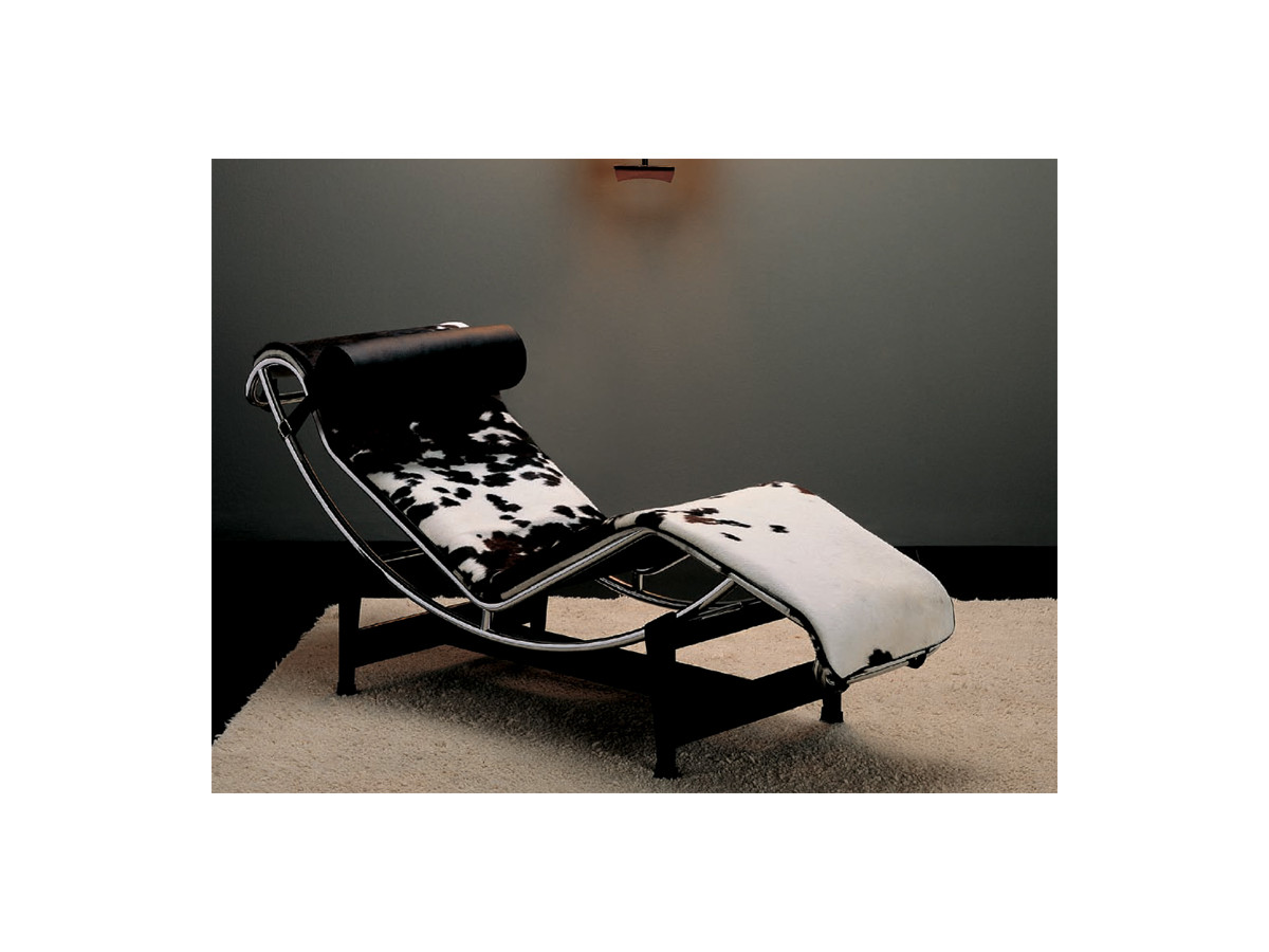 Buy the cassina lc4 chaise longue at for 2 zitsbank met chaise longue