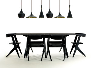 Tom Dixon Slab Dining Table - Rectangular