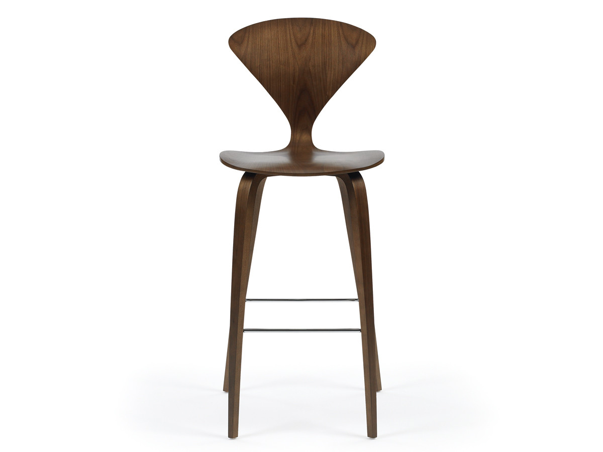 Wood Stools Product ~ Buy the cherner bar stool with wooden base at nest