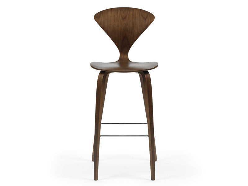 Buy The Cherner Bar Stool With Wooden Base At Nest Co Uk