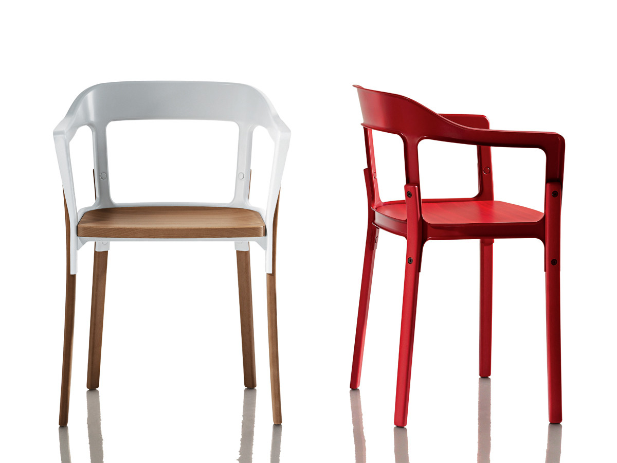 Buy the magis steelwood chair at for Magis stuhl
