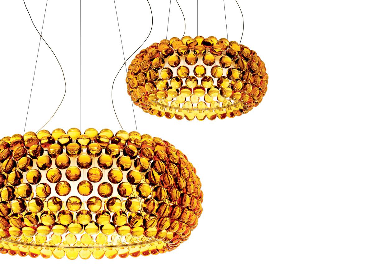 Buy the Foscarini Caboche Suspension Light Gold at Nest.co.uk
