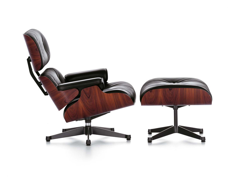 buy the vitra eames lounge chair ottoman at nest co uk
