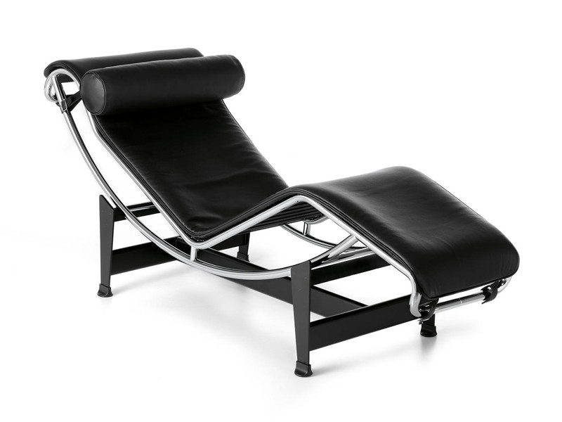buy the cassina lc4 chaise longue at. Black Bedroom Furniture Sets. Home Design Ideas