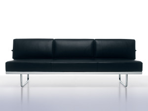 View Cassina LC5 Three Seater Sofa