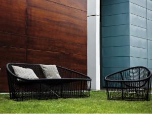 Zanotta 1009 Club Outdoor Sofa