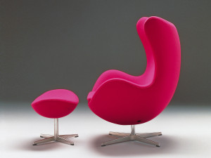 Fritz Hansen Egg Lounge Chair - Fabric