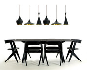 Tom Dixon Beat Light Fat - Black